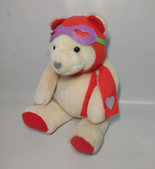 Urso Aviador Pelúcia 33 Cm