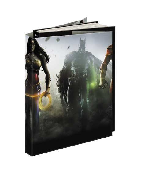 Livro Guia Estratégia Injustice Gods Among Us Collector