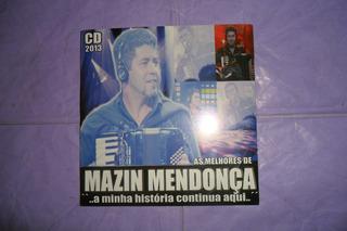 Cd. Mazin Mendonça.a Minha História Continua Aqui.