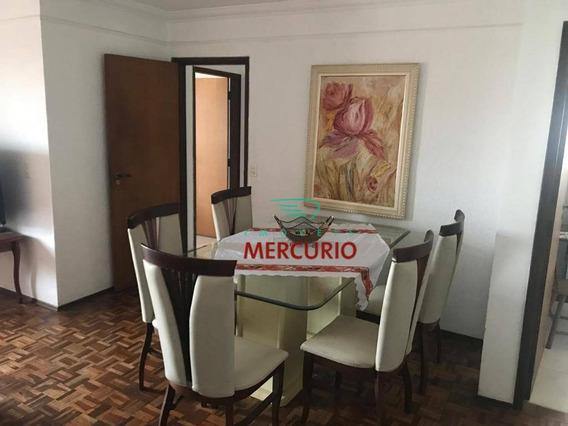 Apartamento Com 3 Dormitórios Para Alugar, 87 M² Por R$ 1.400/mês - Jardim Infante Dom Henrique - Bauru/sp - Ap3216