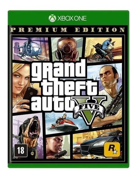 Grand Theft Auto V Edição Premium Xbox One Código