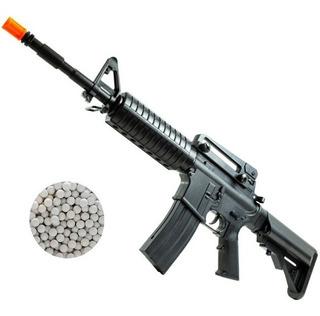 Rifle Airsoft M4 A1 Carbine Long Spring Mola Black