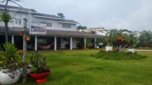 Chácara Com 4 Dormitórios À Venda, 5000 M² Por R$ 3.800.000,00 - Monte Belo - Taubaté/sp - Ch0020