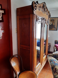 Ropero Tipo Español Con Espejo