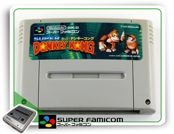 Donkey Kong Country Original Sfc Super Famicom