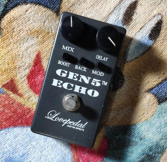 Lovepedal Gen 5 Echo -trocas- Willaudio
