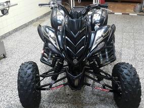 Yamaha Raptor 700 2012...ensanchado Parrilla Americana Y Pis