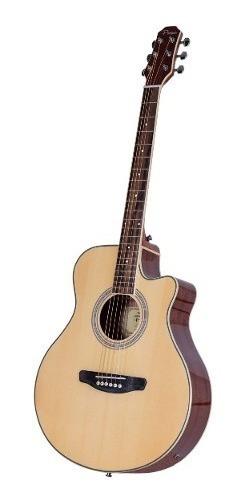 Guitarra Electroacústica Parquer Master Media Caja Con Corte