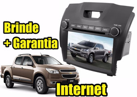 Kit Central Multimidia Nova S10 Blazer Gps Dvd 3g Cam Ré Tv