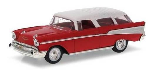 1957 Chevrolet Nomad Vermelho - Escala 1:43 - Yat Ming