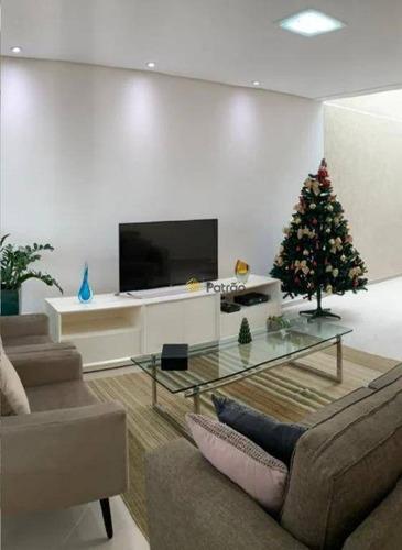 Casa Com 4 Dormitórios À Venda, 230 M² Por R$ 1.280.000,00 - Anchieta - São Bernardo Do Campo/sp - Ca0497