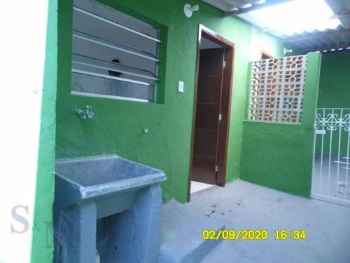 Imagem 1 de 23 de Casa Com 1 Dormitório Para Alugar, 40 M² Por R$ 800,00/mês - Cidade São Jorge - Santo André/sp - Ca0914
