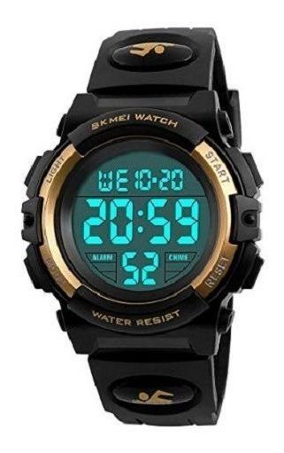 Reloj Skmei Digital Niños Y Caballeros Sumergible 5 Atm 1266