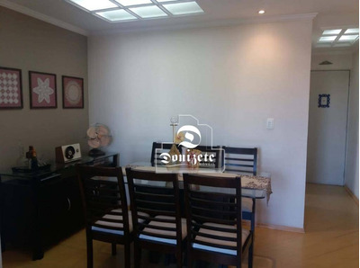 Apartamento Com 2 Dormitórios À Venda, 58 M² Por R$ 240.000 - Jardim Do Estádio - Santo André/sp - Ap8737