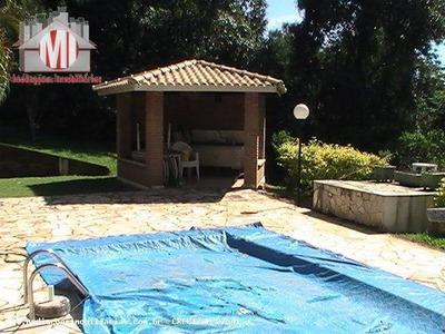 Chácara Em Condomínio Com 03 Dormitórios, 02 Chales Para Hóspedes, À Venda, 11265 M² Por R$ 390.000 - Zona Rural - Pinhalzinho/sp - Ch0055
