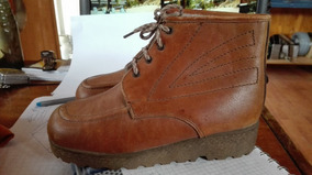Zapato Tipo Botín De Cuero Nuevo Nº 33