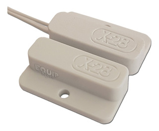 Sensor Micro Magnético Alarma X28 Smcb Cable Puerta Ventana