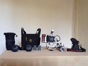 Blackmagic Design Pocket Cinema Camera + Lentes + Acessórios