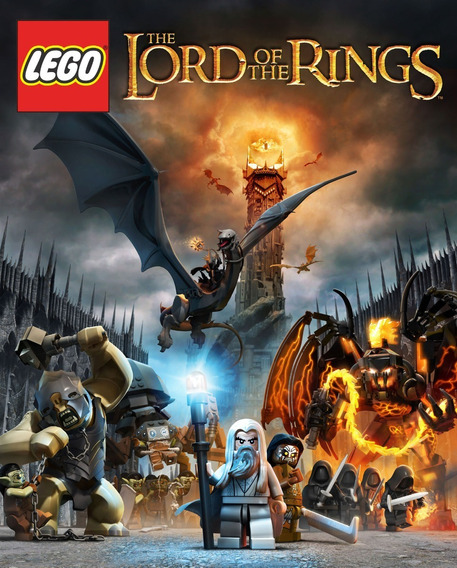 Lego - Jogo The Lord Of The Rings (pc) - Chave Global