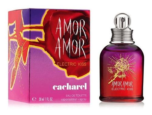 Amor Amor Electric Kiss Edt 30 Ml Cacharel 100% Original