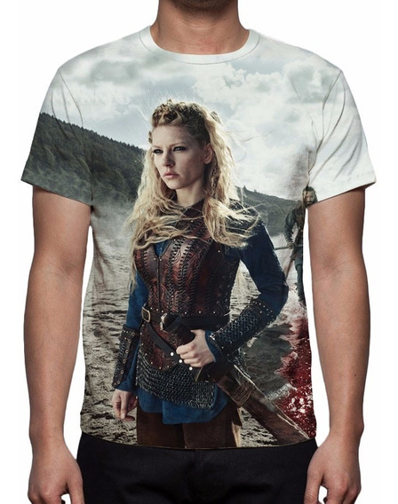 Camisa, Camiseta Série Vikings - Estampa Total