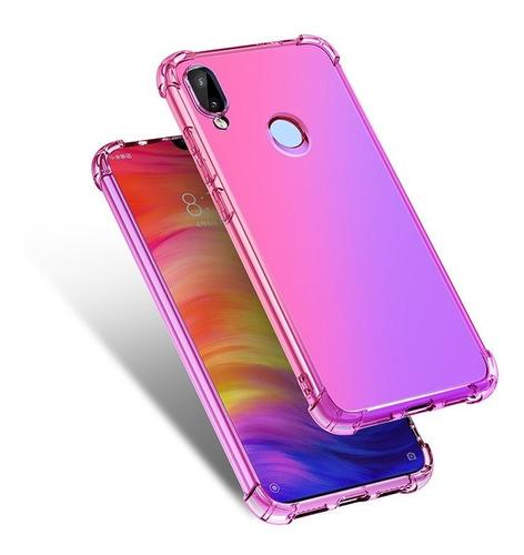 Funda Xiaomi Slim Antishock Gradiente Transparente Case