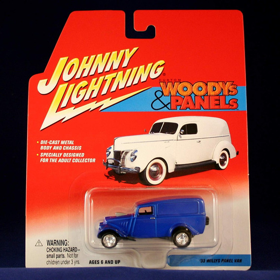 Auto Johnny Lightning 33 Willys Panel Van Coleccion Rdf1