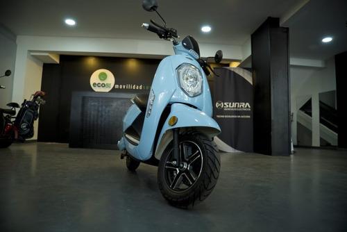 Moto Eléctrica Sunra Grace Scooter Litio Ahora 12 Ahora 18 V