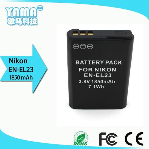 Bateria Compatível Nikon En-el23 P/ Coolpix P600 P610 P900