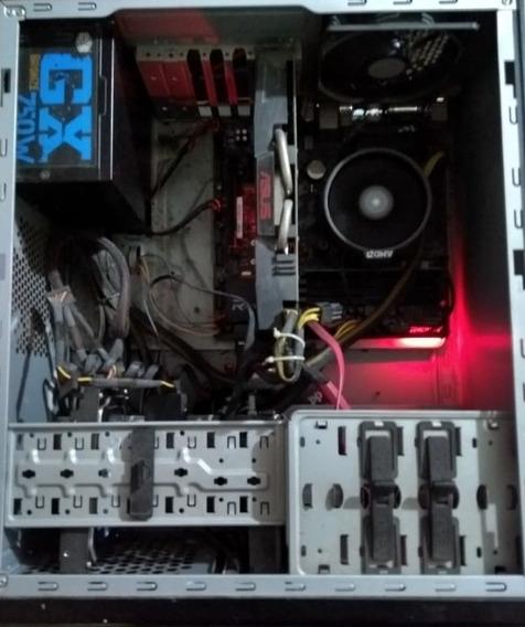 Pc Gamer Gtx 1060 Oc 6mb, Ryzen 5 1600, 16gb Ram, Ssd 500gb