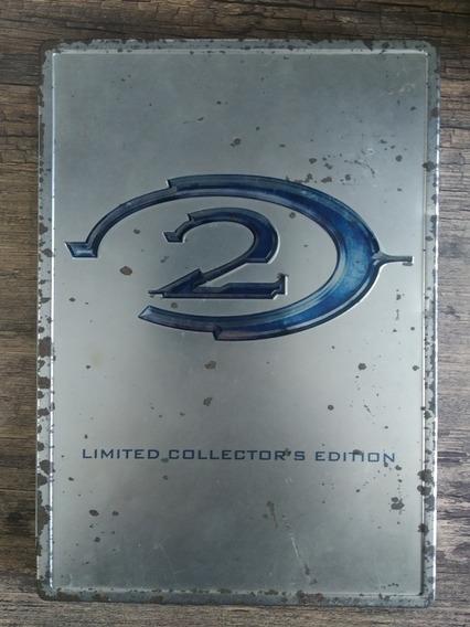 Halo 2 Limited Collectors Edition Sem Disco Jogo + Brinde
