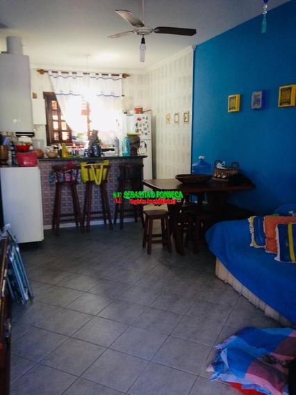 Casa Com 02 Dormitórios Em Caraguatatuba - 1505