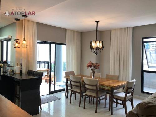 Apartamento Garden À Venda, 252 M² Por R$ 1.450.000,00 - Meia Praia - Itapema/sc - Gd0123