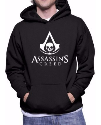 Blusa Moletom Assassin