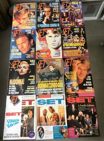 Revista Set 1991 Ano Completo (12 Edições) Perfeito Estado
