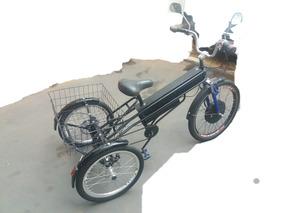 Triciclo Elétrico Adulto Scooter Brasil Baterias Novas