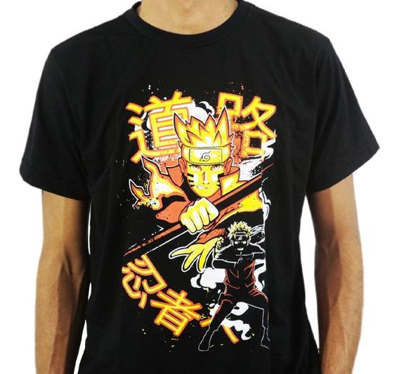 Camiseta Estilo Geek Anime Ninja