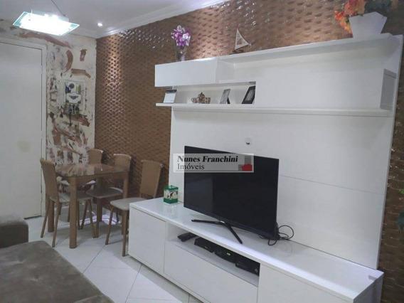 Lauzane Paulista - Zn/sp - Lindo Apartamento 02 Dormitórios !!! - R$ 320.000,00 - Ap6456