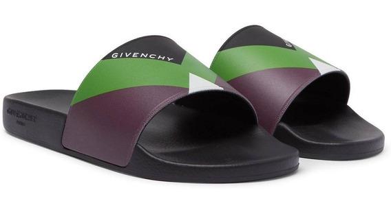 Sandalias Givenchy Colour Block Slides Originales Gucci