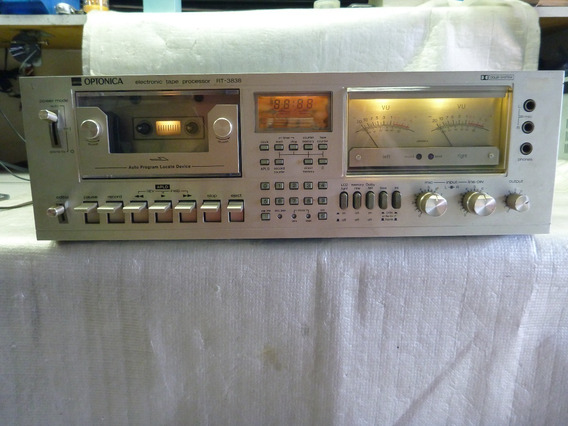 Tape Deck Sharp Optonica Rt-3838