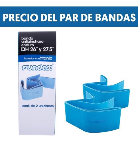 Pack 2 Bandas  Antipinchazo Fundax Bici Enduro 26 A 27,5+