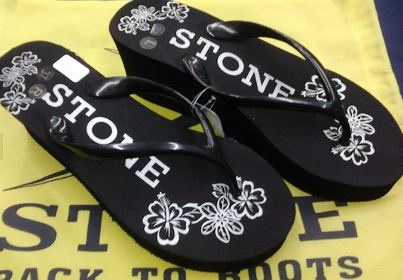 Ojota Stone Con Plataforma Promo Último 38/39 Local Centro