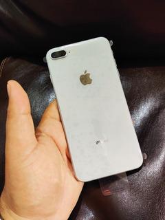 iPhone 8 Plus Silver Semi Novo+capa E Película De Brinde