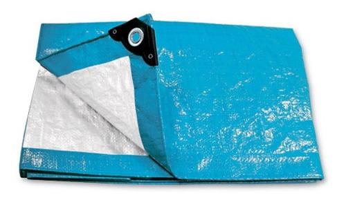 Lona Pretul Toldo Impermeable Protección Azul 5 X 5 Mt Lp-55