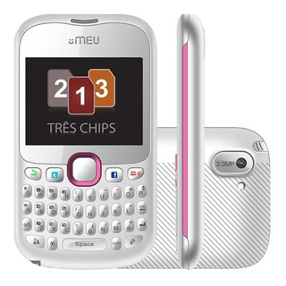 Celular Desbloqueado Meu Sn66 Tri Chip 3 Chips Barato
