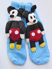 Disney Vintage Knit Pantunflas Calcetines