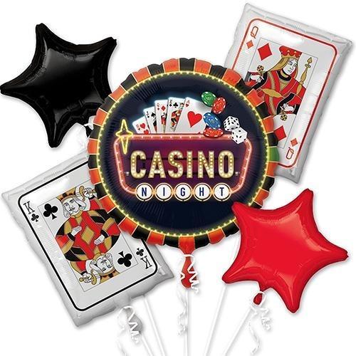 Ramillete Globos Casino Cartas Vegas Apuesta Poker 1jumbo +4