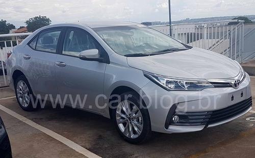 Pecas Capo Farol Parachoque Air Bag Toyota Corolla  2018 Xei