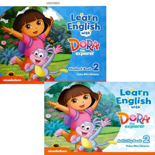 Learn English With Dora The Explorer 2 Student´s + Activity