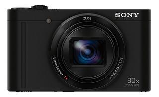 Cámara Sony Con Lente Zeiss Y Zoom Óptico De 30x-dsc-wx500